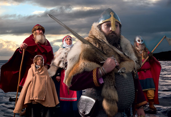 Promotional picture of Vikings for the Jorvik museum