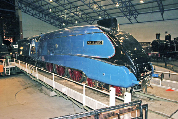 train at the Railway Museum in York, one of the great Yorkshire museums