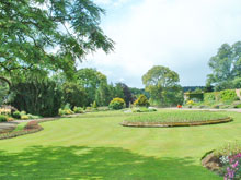 The grounds of Ripley Castle