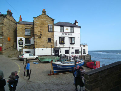 The Bay Hotel, Robin Hood's Bay, North Yorkshire