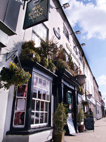 Old Black Swan Inn in Bedale